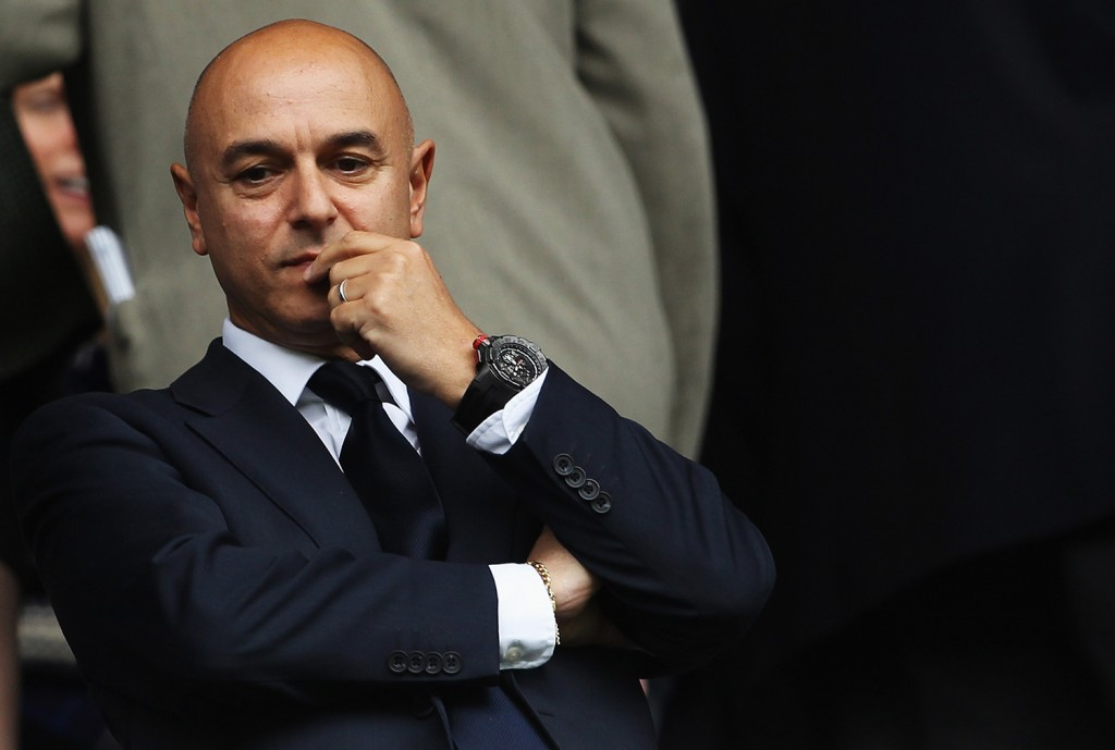 Daniel Levy of Tottenham