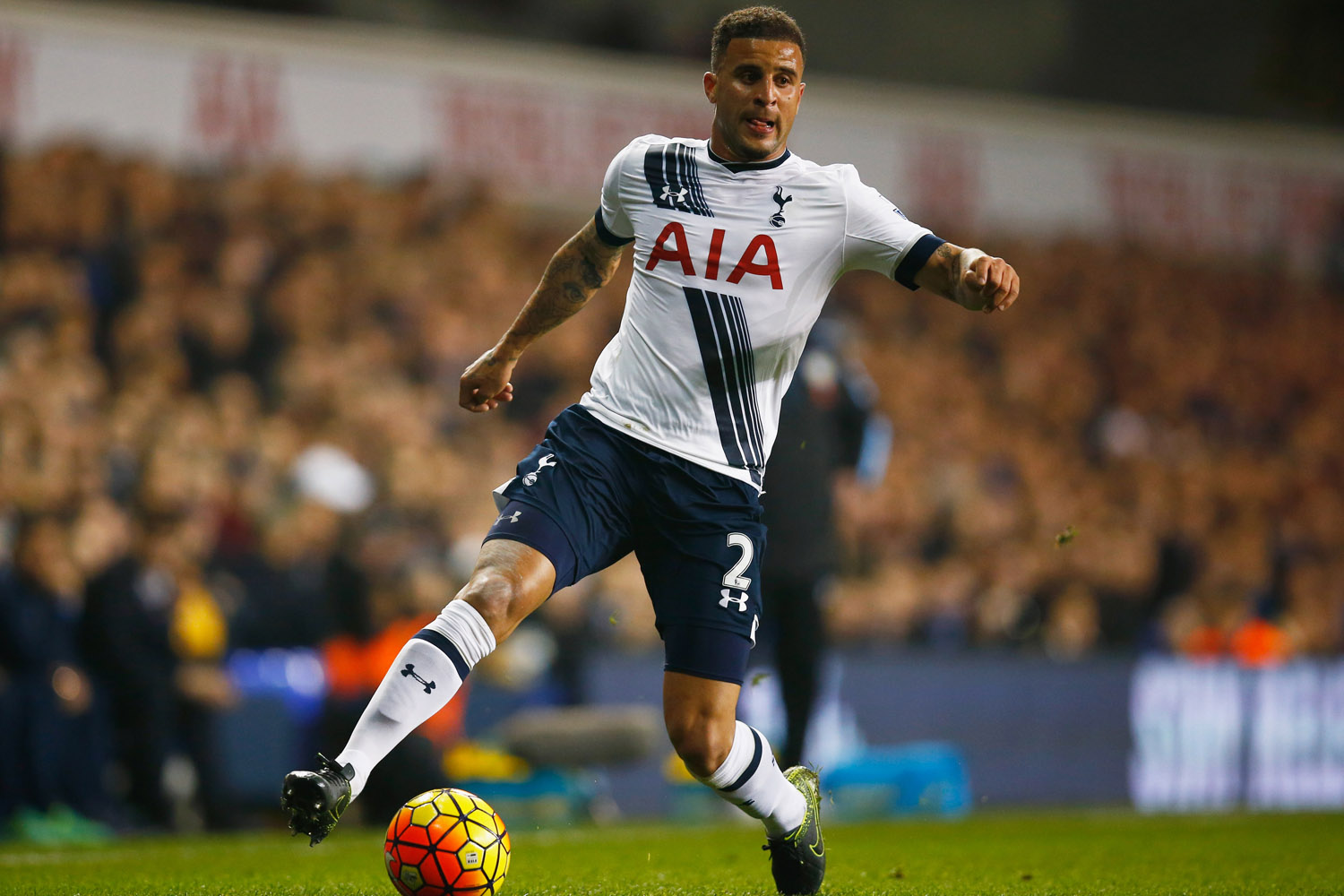 Kyle Walker of Tottenham