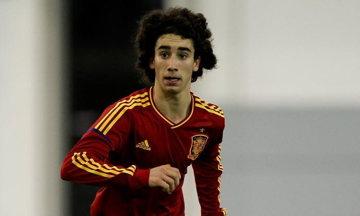 FC Barcelona Juvenil A left back Marc Cucurella