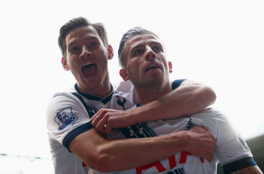 Tottenham Alderweireld and Vertonghen