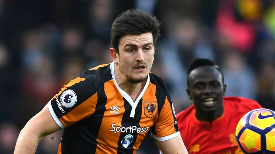 Harry Maguire was still at Hull City when Poch took a liking to him