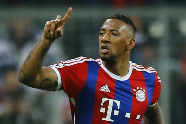 Jerome Boateng won the Champions League with Bayern Munich