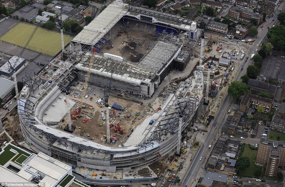 Photos Tottenham Release Latest Pictures Of The On Going