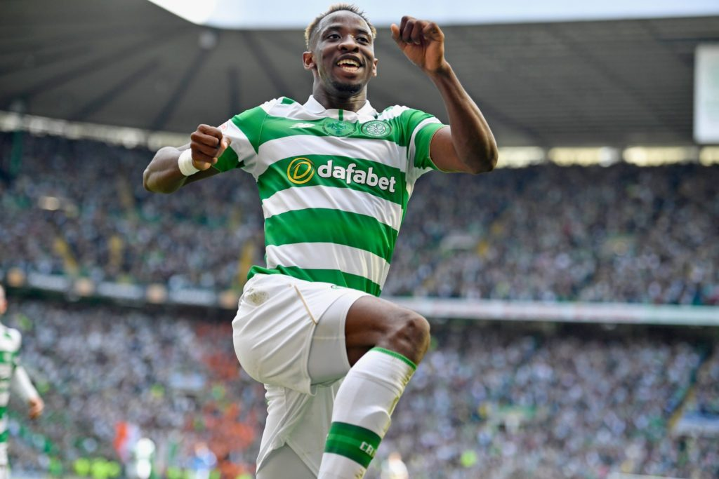 Moussa Dembele during his time at Celtic