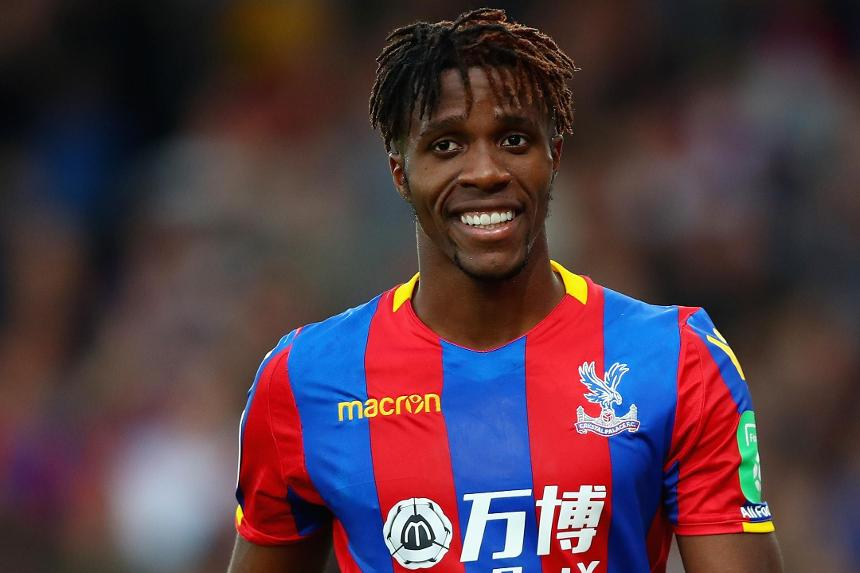 Wilfried Zaha Crystal Palace's biggest threat