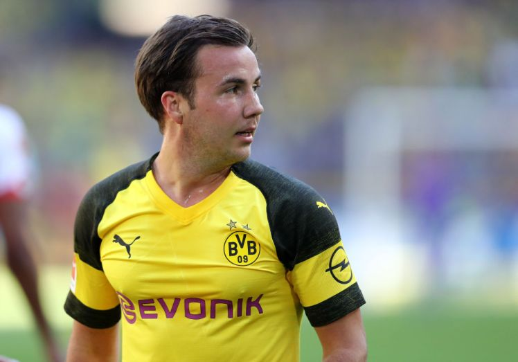 Mario Gotze will be a free agent in the summer