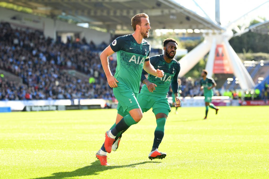 Harry Kane & Danny Rose of Tottenham
