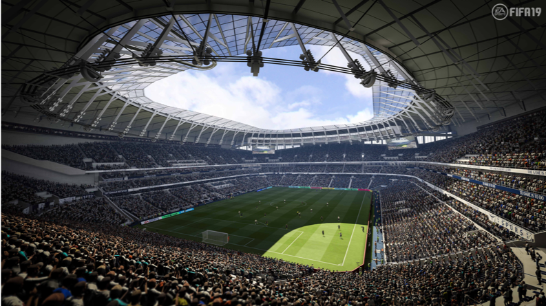 FIFA 19 Shares New In-game Stadiums Featuring Tottenham