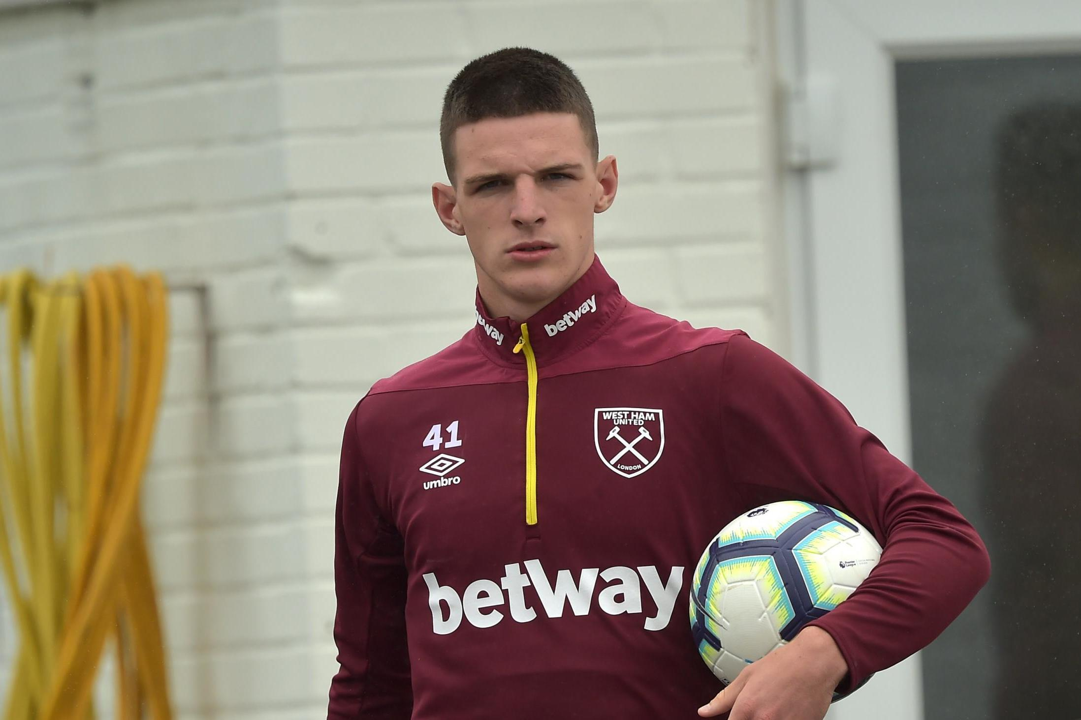 Declan Rice is a target for Tottenham