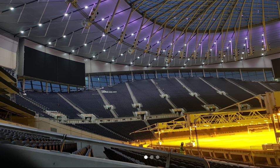 Tottenham have one of the most elite stadiums in all of Europe.