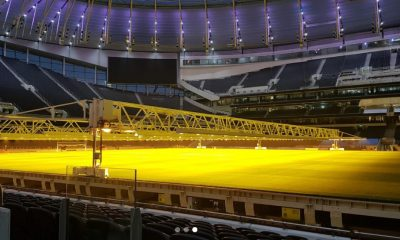 Tottenham stadium light