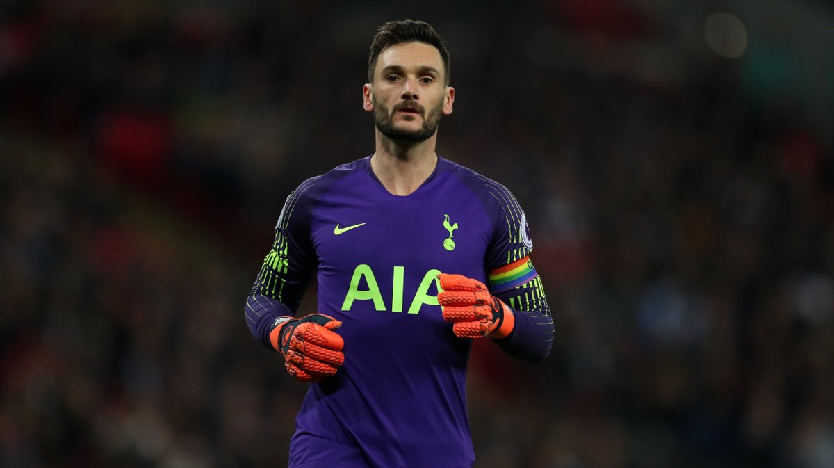 Hugo Lloris of Tottenham