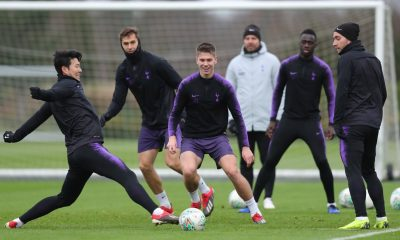 Juan Foyth returns to training for Tottenham
