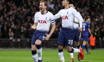Harry Kane and Dele Alli of Tottenham