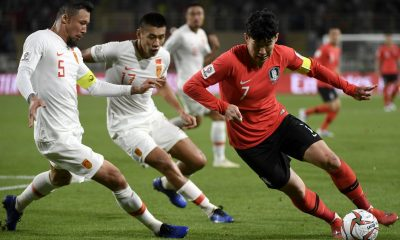 Son-Heung-min of Tottenham and South Korea