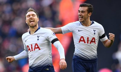 Christian Eriksen and Harry Winks