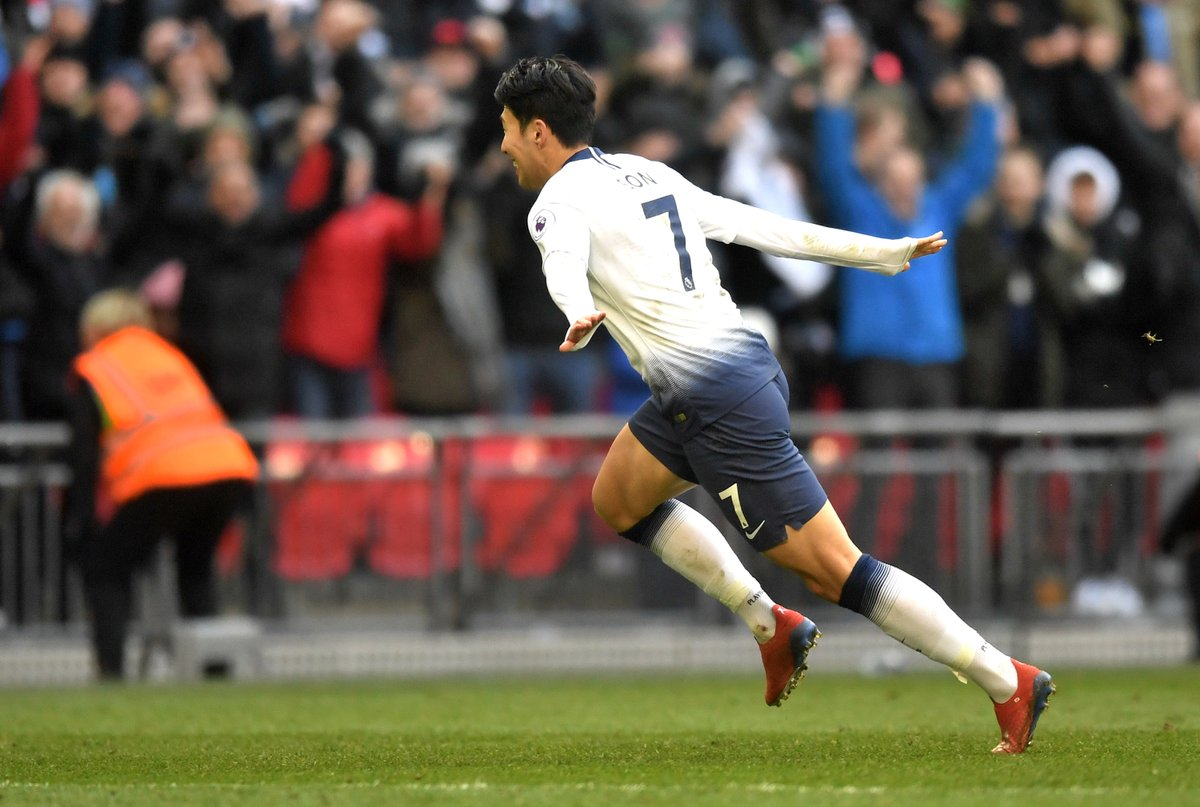 Son Heung-min of Tottenham