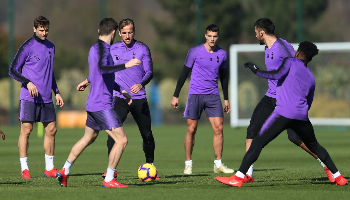 Latest Tottenham News Spurs Train Ahead Of Tough Chelsea Tie