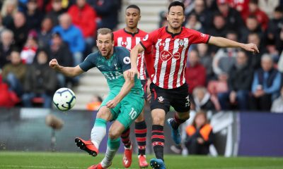 Harry Kane against Southampton