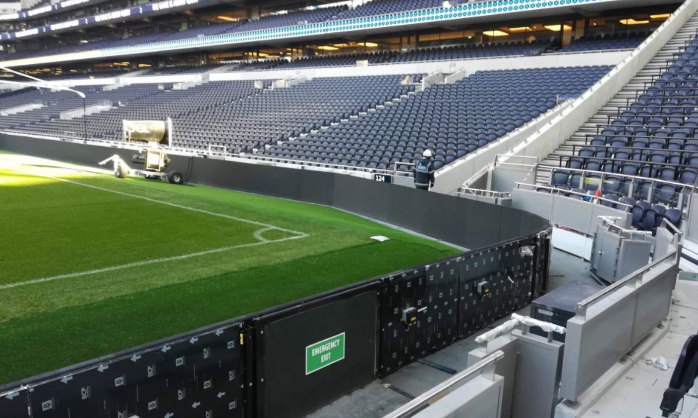 Tottenham Hotspur were earmarked to get artificial turf this season to host NFL games.