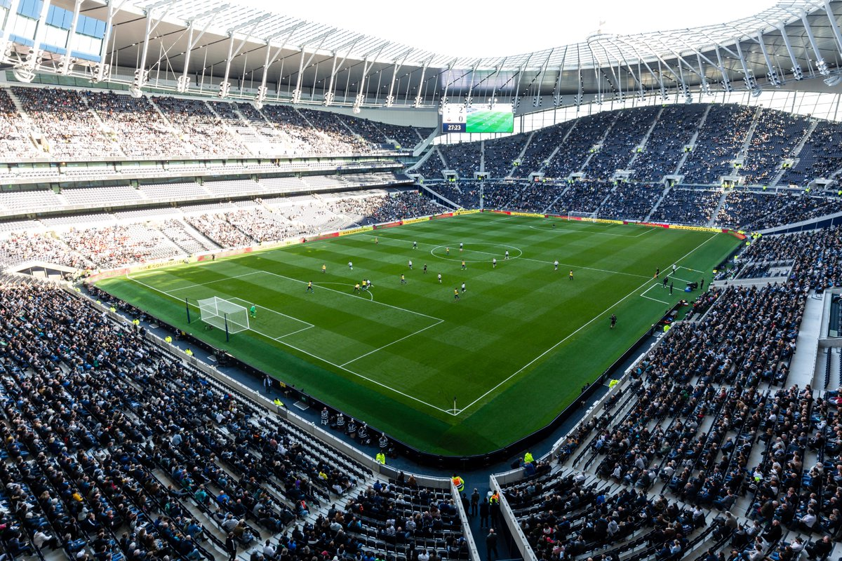Tottenham Host Manchester City In The First Leg Quarter Final And Report Claims That Two Rows Will Be Kept Empty Due To Concerns Over Camera