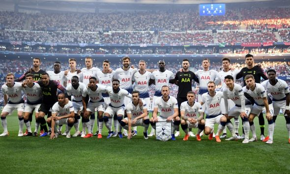 Tottenham team photo