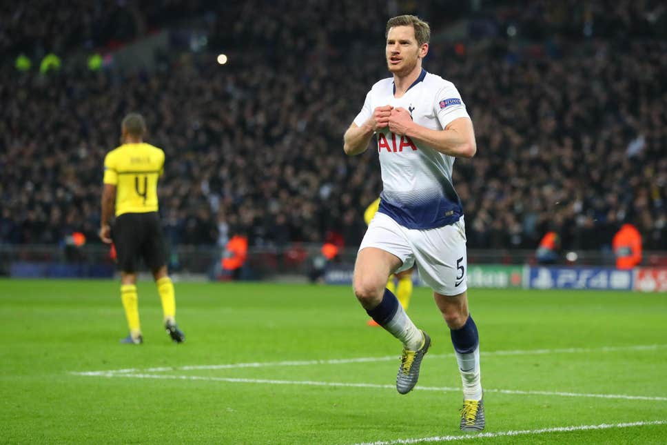 Jan Vertonghen was the hero when Tottenham Hotspur beat Borussia Dortmund in 2019, two years ago today, en route to the UEFA Champions League final.