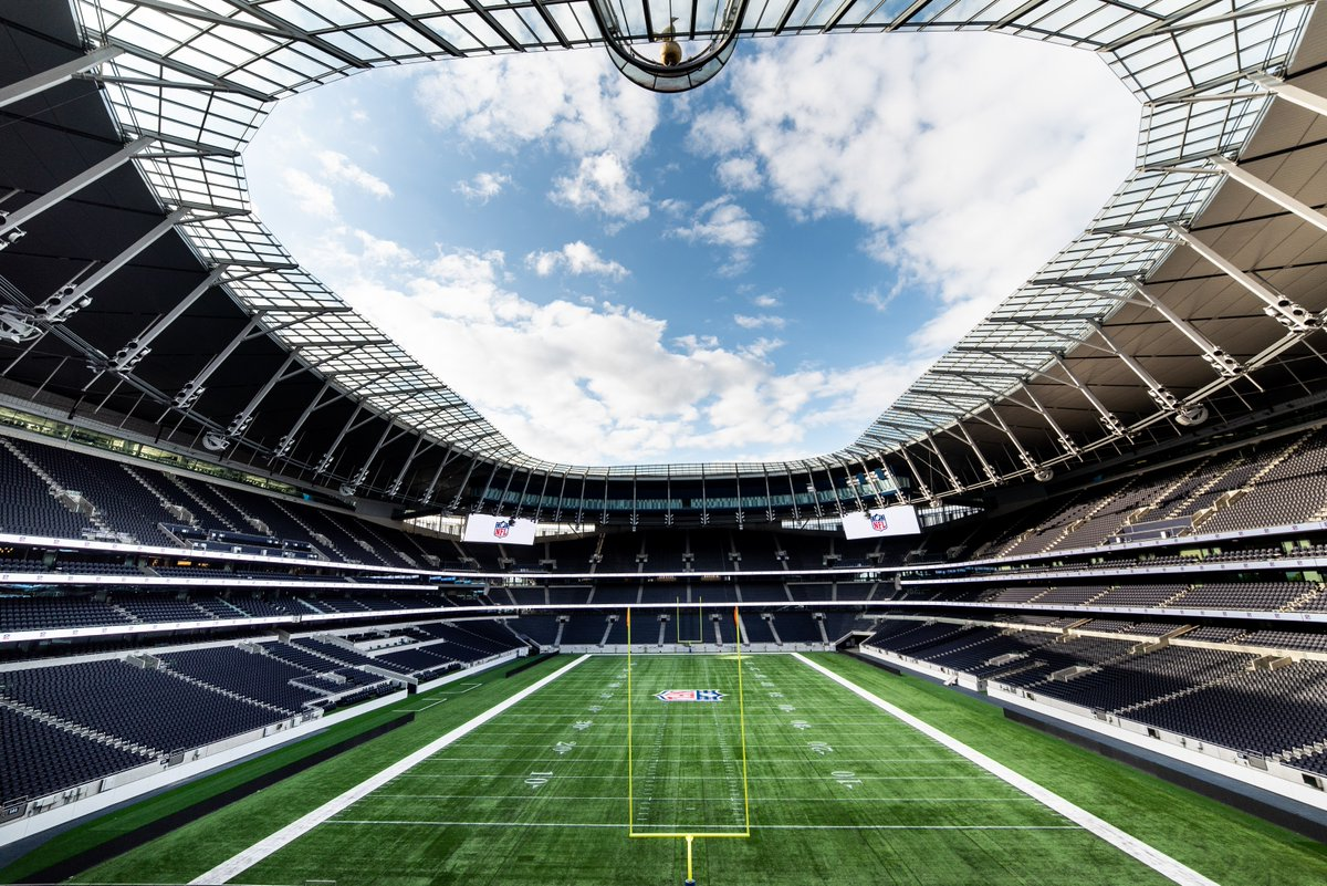 The new Tottenham stadium was supposed to be used for NFL games this season.