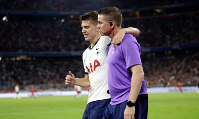 Juan Foyth has two years left on his Tottenham contract