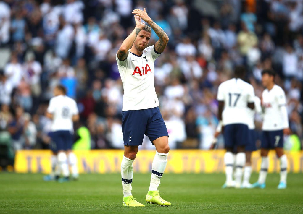 Toby Alderweireld had a solid game against Everton