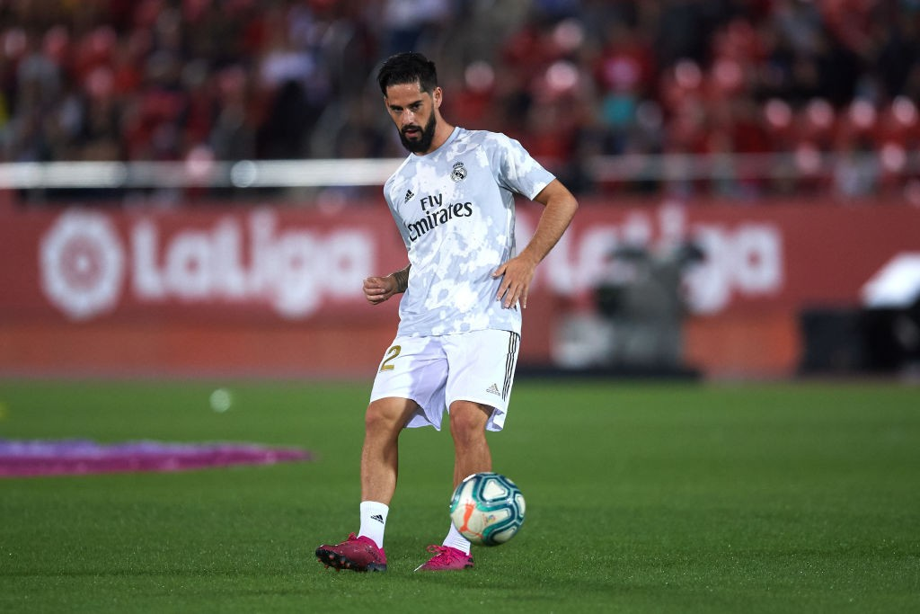 Isco could leave Real Madrid in the summer.
