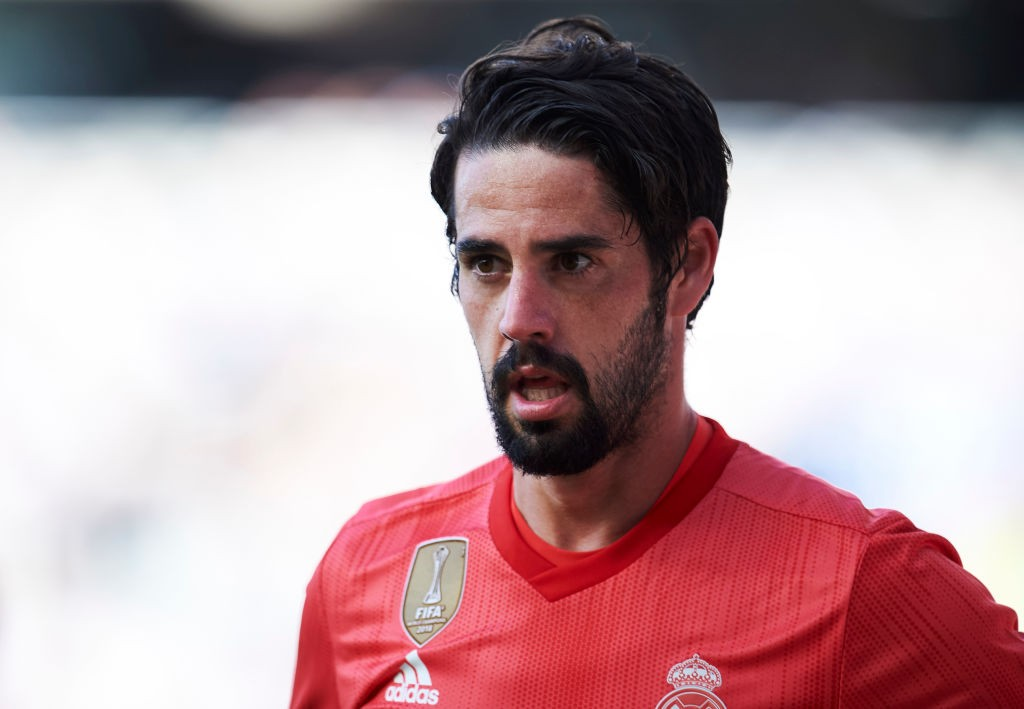 Tottenham Hotspur and Arsenal keen on Real Madrid star, Isco, in this transfer window.