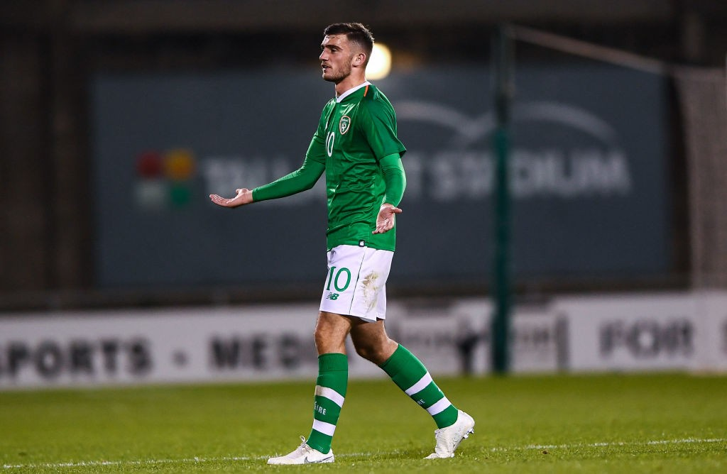 Troy Parrott withdrew from the Republic of Ireland squad