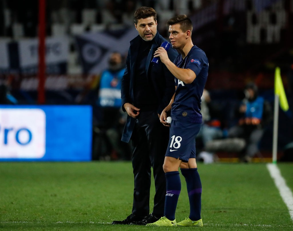 Lo Celso has featured in 12 matches for Tottenham this season. (GETTY Images)