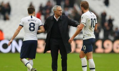 Mourinho expects Kane to be fit to face Arsenal