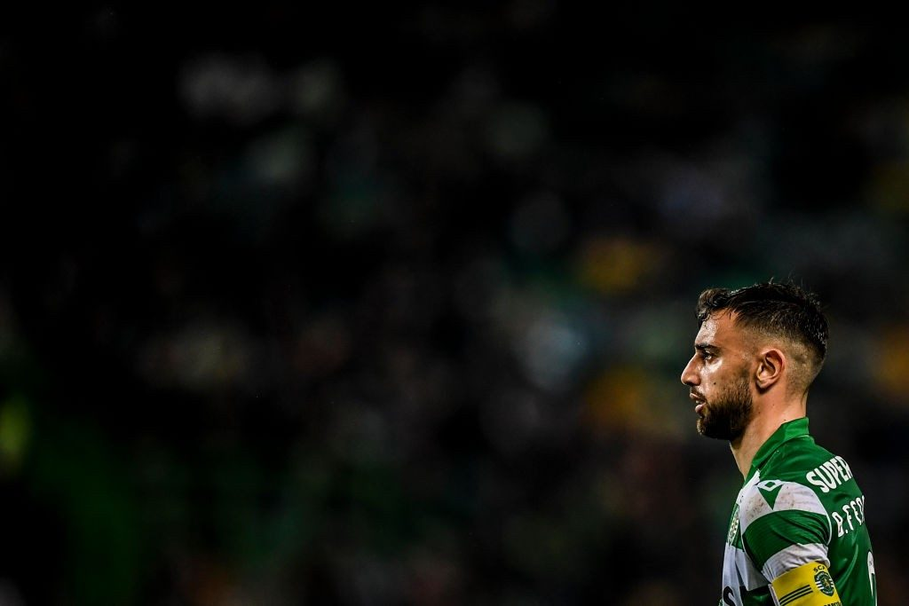 Bruno Fernandes' future was finally resolved in January.