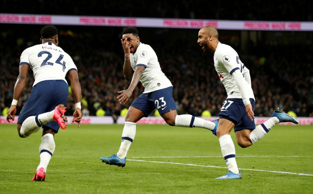 Steven Bergwijn Tottenham predicted lineup