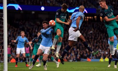 Fernando Llorente scored a precious goal for Tottenham in their Champions League clash against Man City