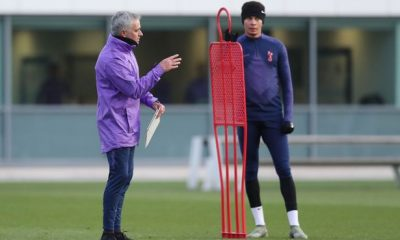 Tottenham Hotspur are the only London team in training