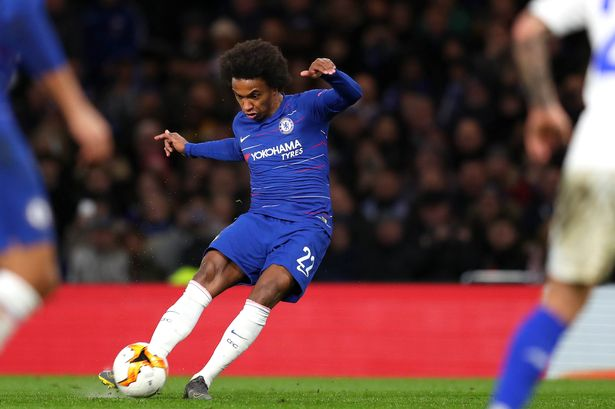 Rottenham Hotspur to offer Chelsea star Willian a lucrative contract