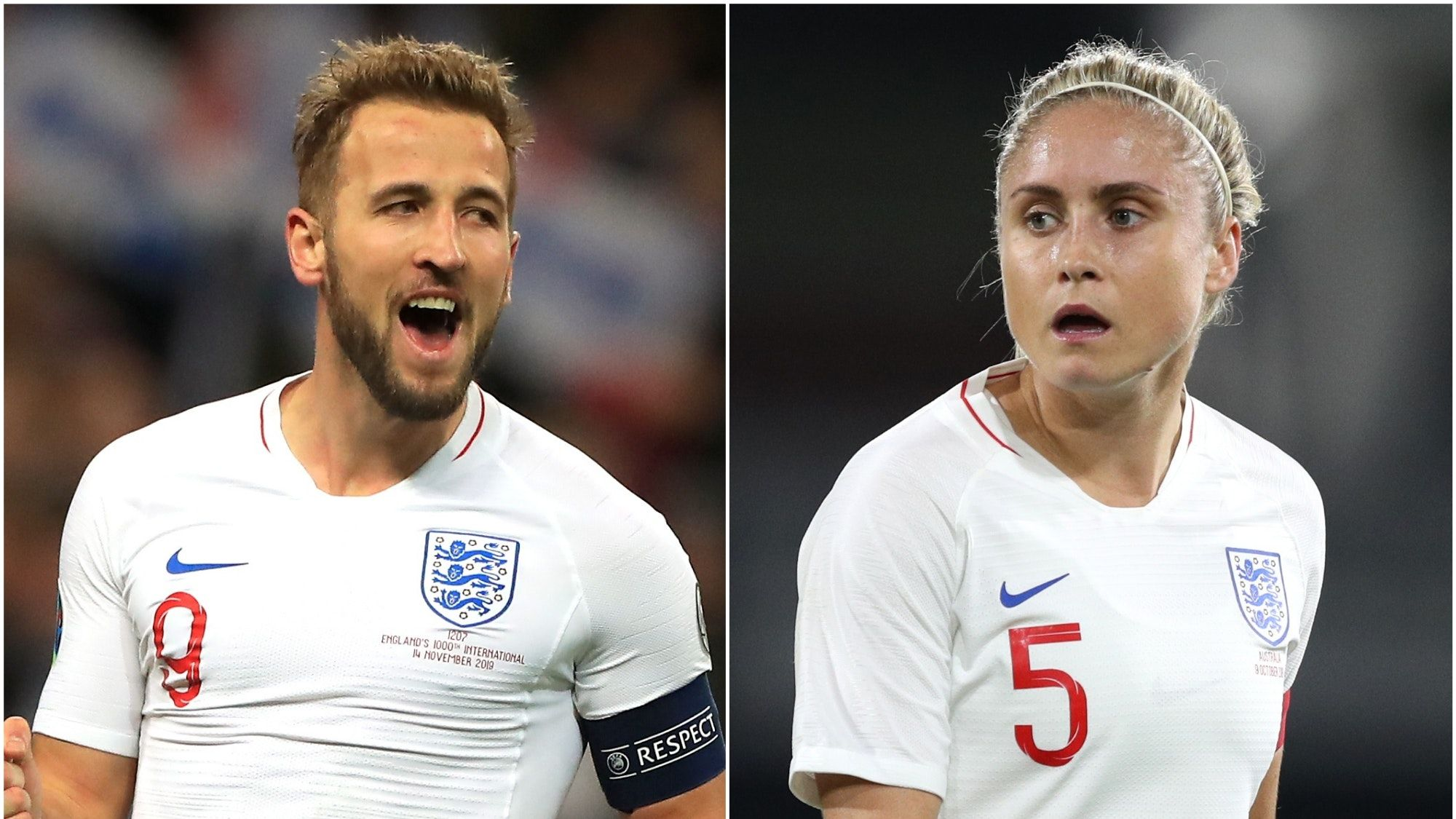 Harry Kane and Steph Houghton kickstarted the FA's new campaign
