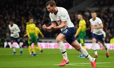 Jan Vertonghen Tottenham Player Ratings