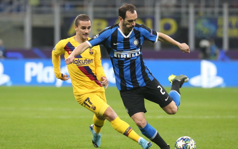 Spurs Transfer News Diego Godin is one of the best defenders of the last decade