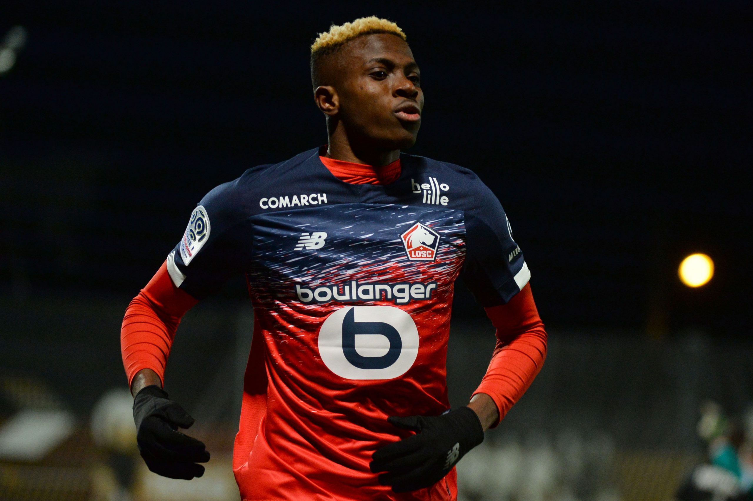 Tottenham Hotspur target Victor Osimhen has denied news that he has reached an agreement with Napoli