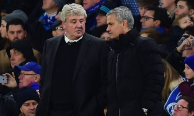 Jose Mourinho and Steve Bruce