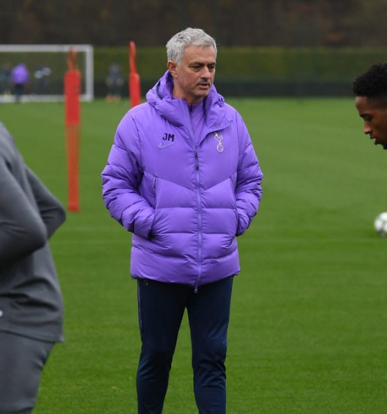 Jose Mourinho is glad to be back in training