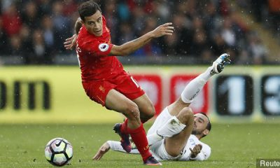 Coutinho was a star at Liverpool