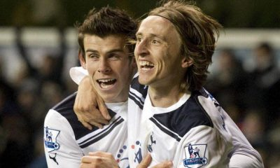 Modric and Bale at Tottenham