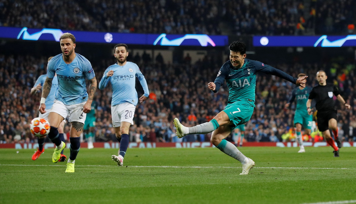 Tottenham Hotspur star Heung-Min Son silenced the Etihad last season