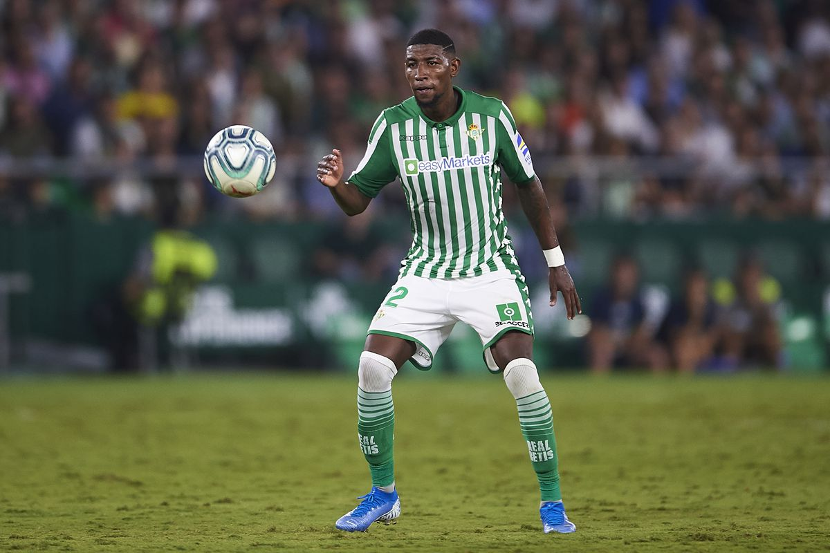 Emerson is currently on loan at real Betis
